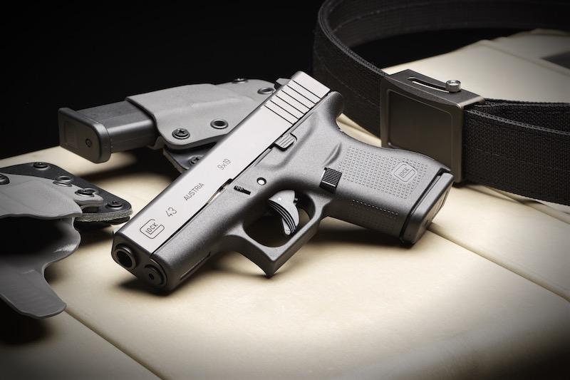 "Glock Safe Action Pistols Sticker Size 3 11//16"" New"