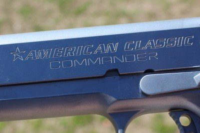 American Classic Commander.  Says it right there on the slide!