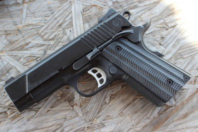 The T4 is an eveoltution of Nighthawk's Talon line of Pistols, and is built around the 9mm cartridge.