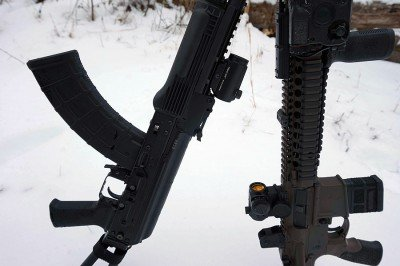 On the AK or the AR, the optic is a solid option for those on a tight budget.