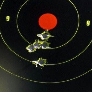 From 100 yards with the Nightforce.