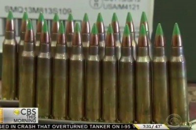 """""""Green Tip"""" ammo, a recent target of the ATF."""