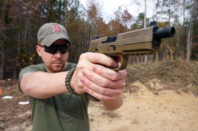 If you do have big hands, the FNX-45 should be a natural fit.