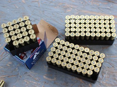 .357 Magnum options abound. All feed well in the Coonan.