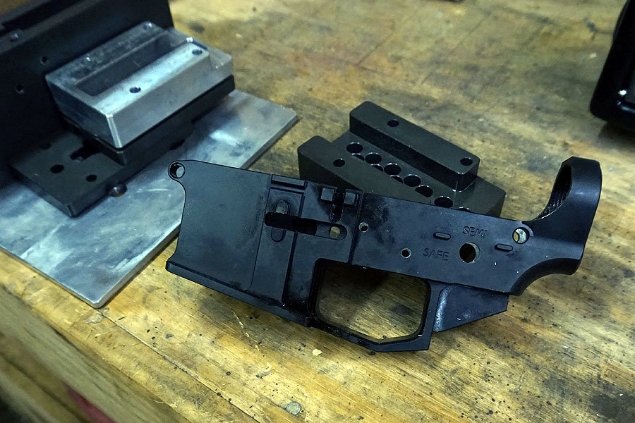 80% Arms Billet Aluminum Lower Build-No Milling Machine Needed