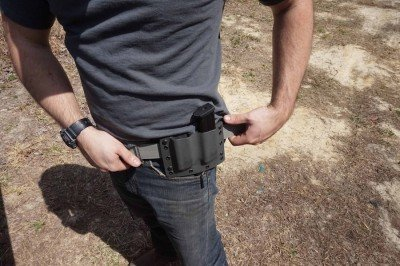 While not as easy to conceal, a double mag carrier allows for excellent capacity.