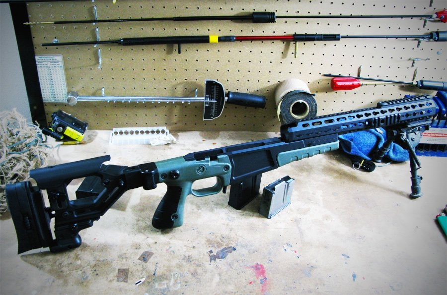 Perfecting the Remington 700 with Accuracy International's Chassis