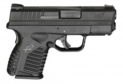 The XD-S in .45 ACP.