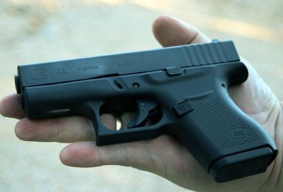 A humble GLOCK? Hardly. The 43 took the day.