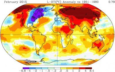 "It is so hard as a actual conservative/libertarian to believe that ""global warming"" is real after all of the sham data and cold weather, but if you read up on the science of nucleated snow, you'll understand how this map can make sense. They have been keeping the Eastern US cold for political reasons, to keep us as the opposition when the rubber meets the road, ie. NOW.  Global temperatures are out of control."