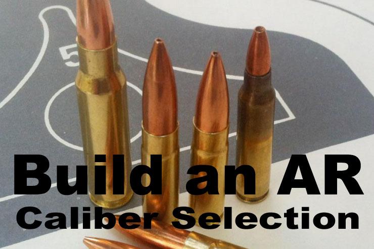 AR caliber cover