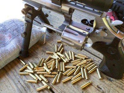The .17 HMR uses a bottleneck cartridge based on the .22 Magnum.