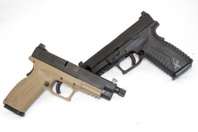 Two new suppressor-ready models from Springfield Armory: The XD(M) 9mm and XD(M) 45.