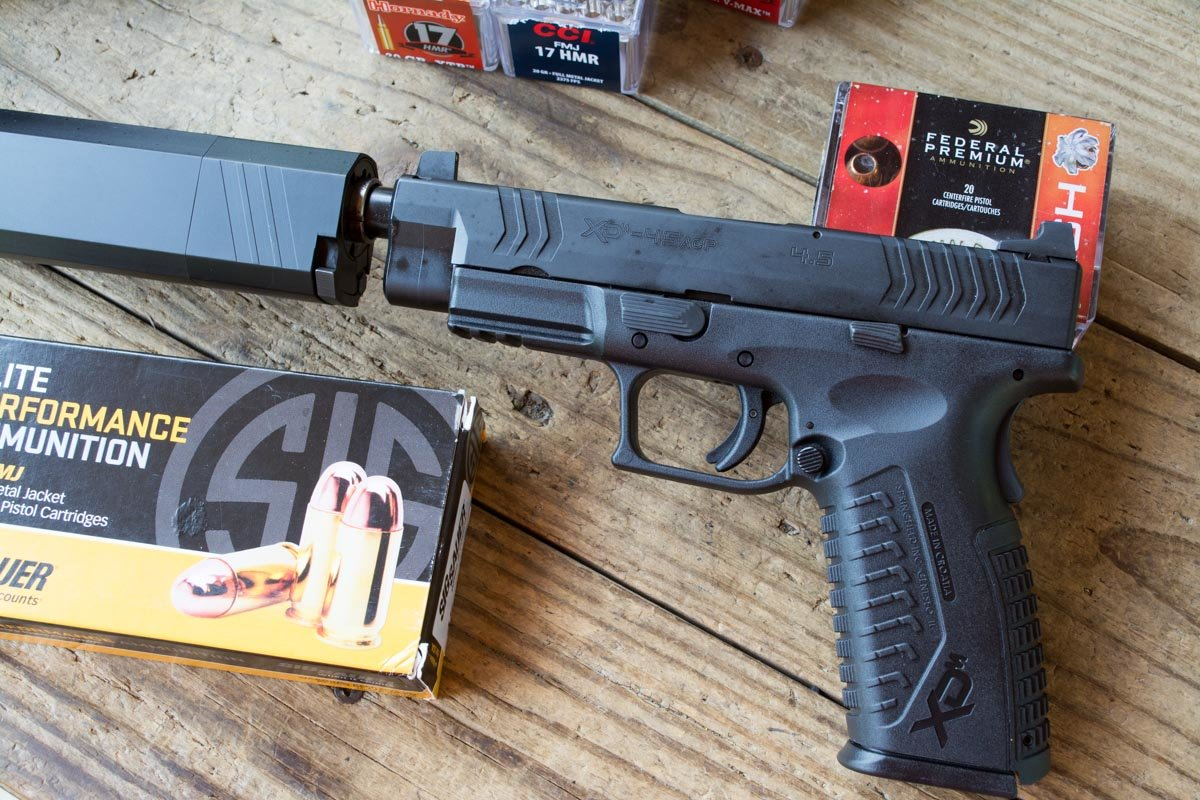 First Look: Springfield Armory XD(M) 9mm and 45 Threaded