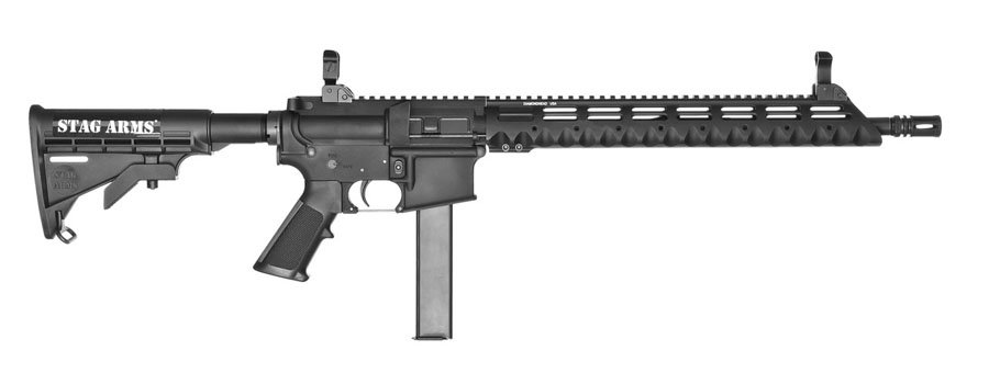 The Stag Arms Model 9T - everything you need; nothing you don't.