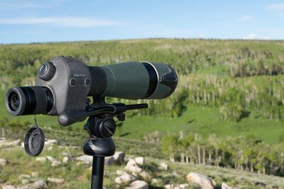 A high-quality spotting scope makes all the difference. When you need to read wind 1,000 yards out, it helps to be able to clearly see blades of grass. This Swarovski model fit the bill.