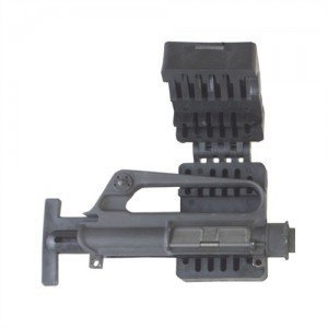 Be sure to use an upper receiver vise, like this Brownell's model so you don't bend or crush your upper receiver.