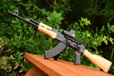 The RAS47, an all-American made rifle with Russian roots.