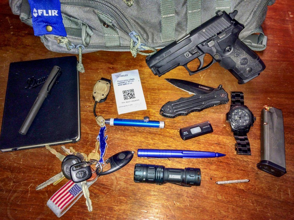 "When I carry my ""briefcase"", I have room for a few extra essentials."