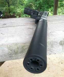 Editor's note: I spent a couple of days on the range with the Timberwolf. It ran exceptionally well. I tried everything I could to induce failure, and I couldn't. Even with the AAC can attached.