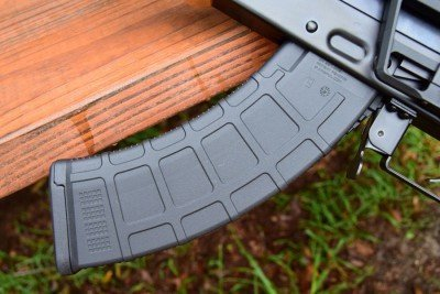 A Magpul AK mag--just as reliable as the mags that built Magpul's reputation.