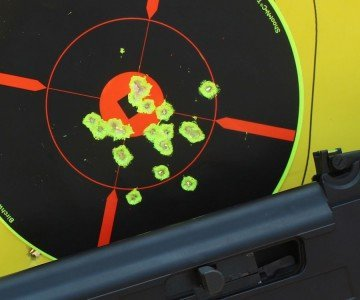 We didn't see measurable differences with any of the ammo we tested. everything worked well.