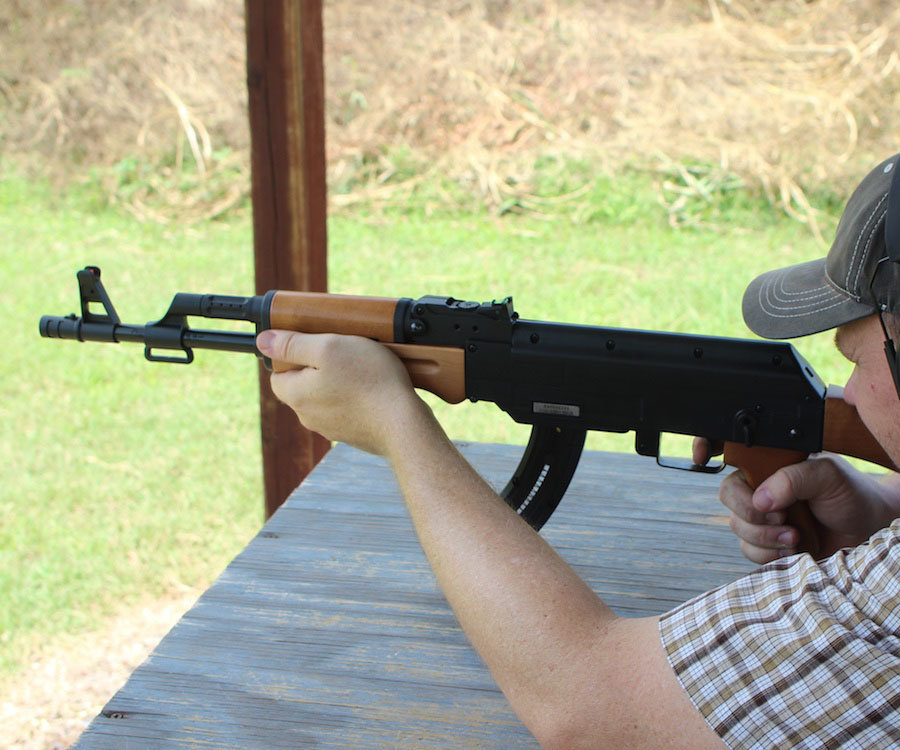 Mossberg's New Rimfire AK–The Blaze 47
