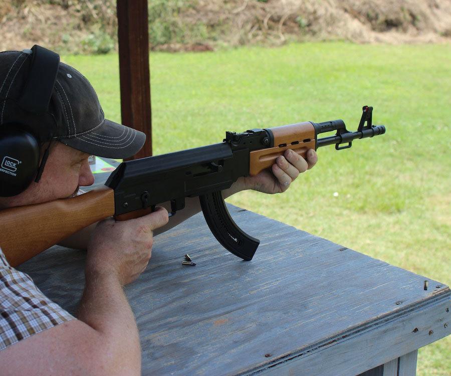 The Blaze 47 is a fun-gun, and has rewarding accuracy.