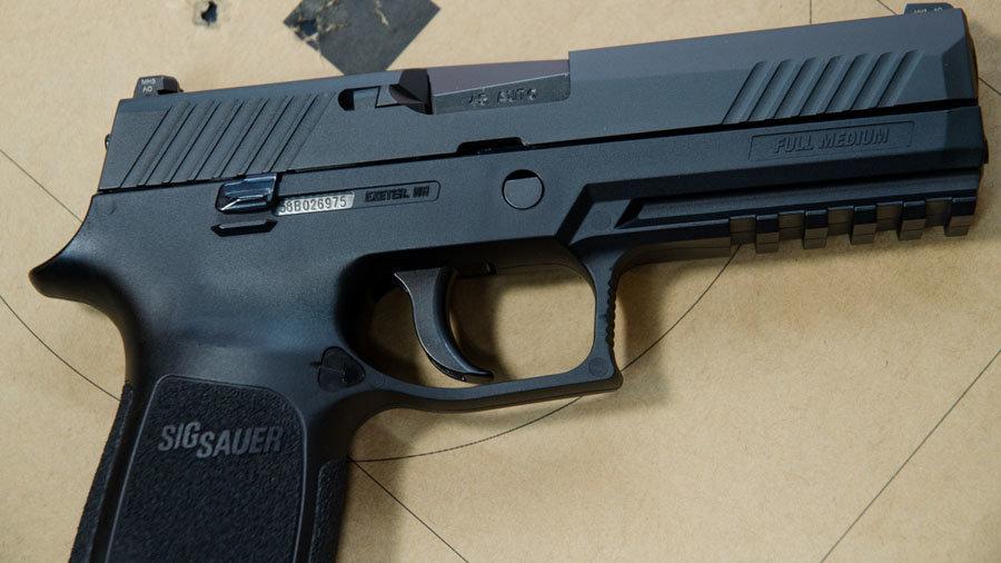 SIG SAUER P320 Grows up – to  45 ACP (Review) - GunsAmerica