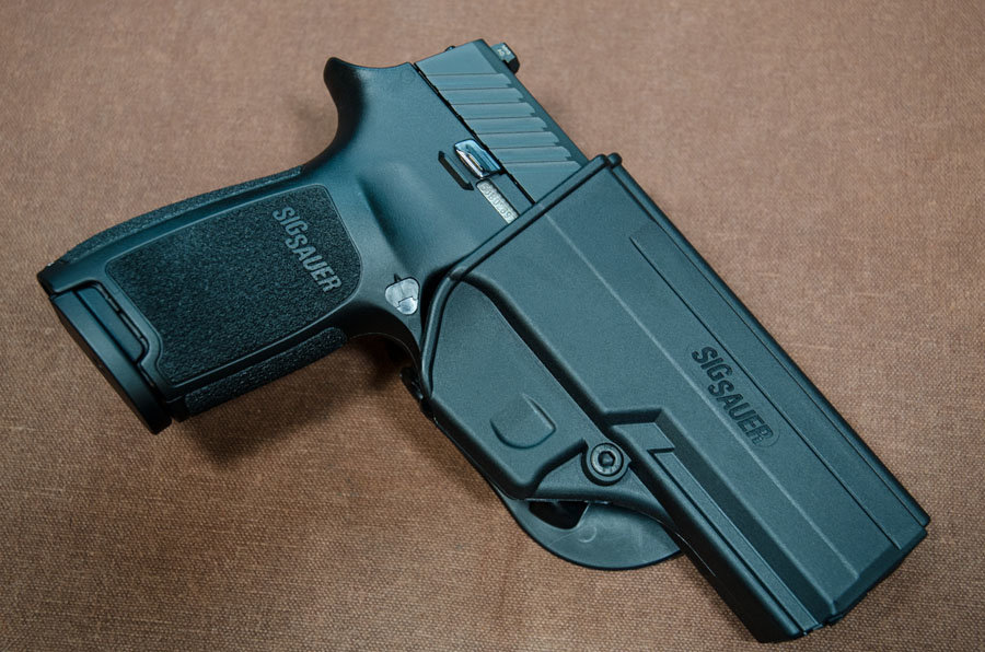 SIG SAUER P320 Grows up – to  45 ACP (Review) - GunsAmerica Digest