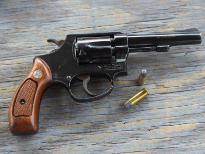 The Smith and Wesson Model 30-1.