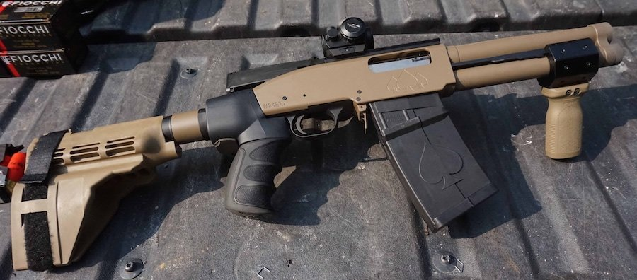 Looking for a compact 12 gauge? Check out the Black Aces DT.