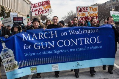 A gun-control march on Washington.