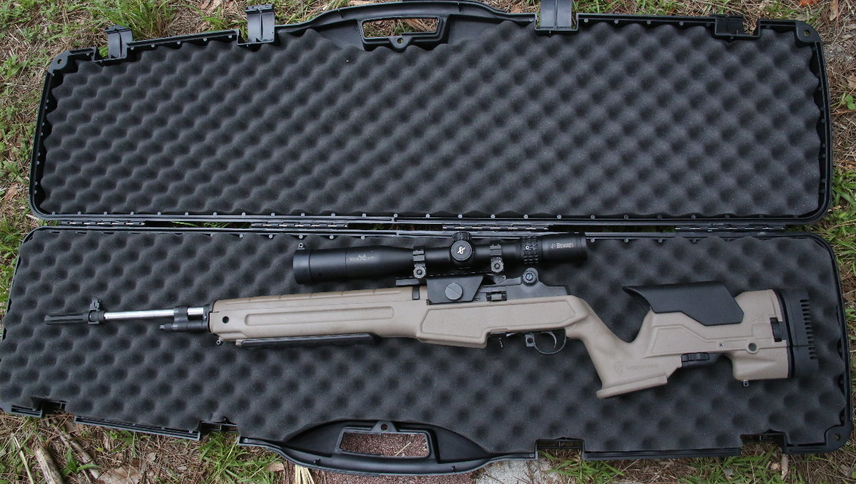 M1a Snipercompetition Rifle New Adjustable Precision Stock