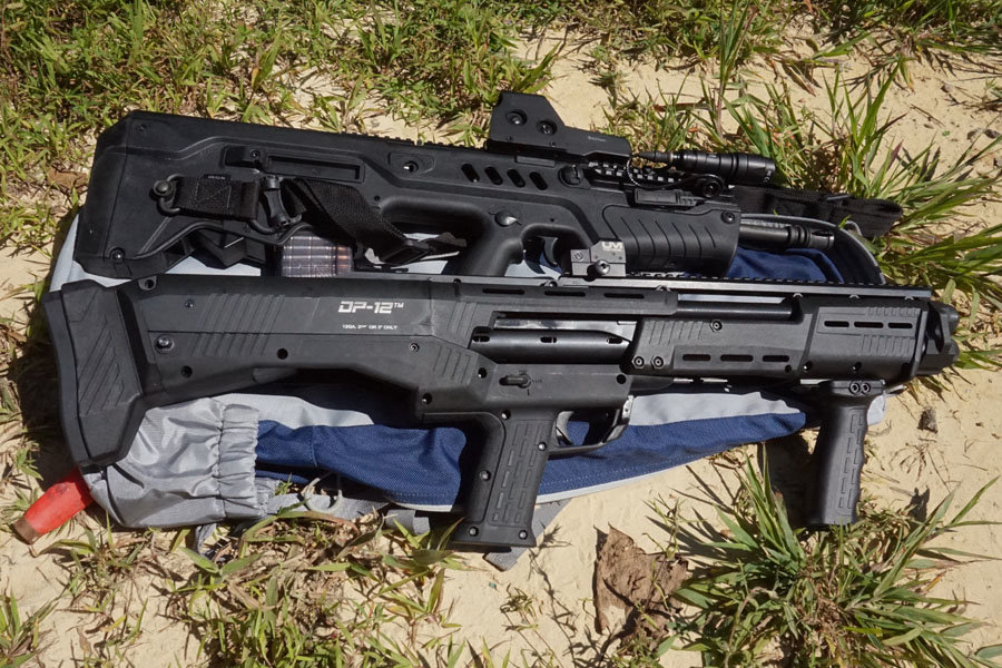 The DP-12 should find a home next to the best of the bullpups.