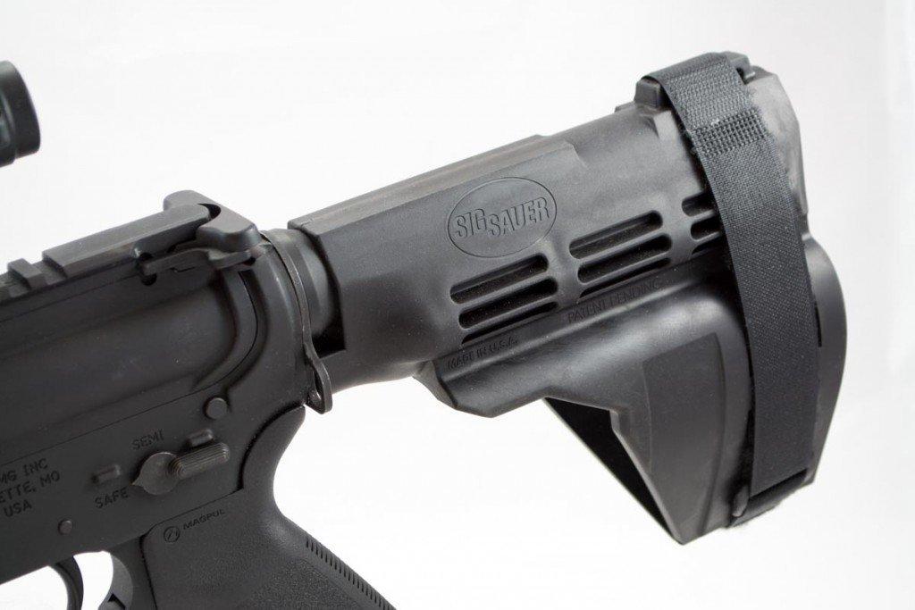 Sig Sauer's AR-15 Pistol Brace