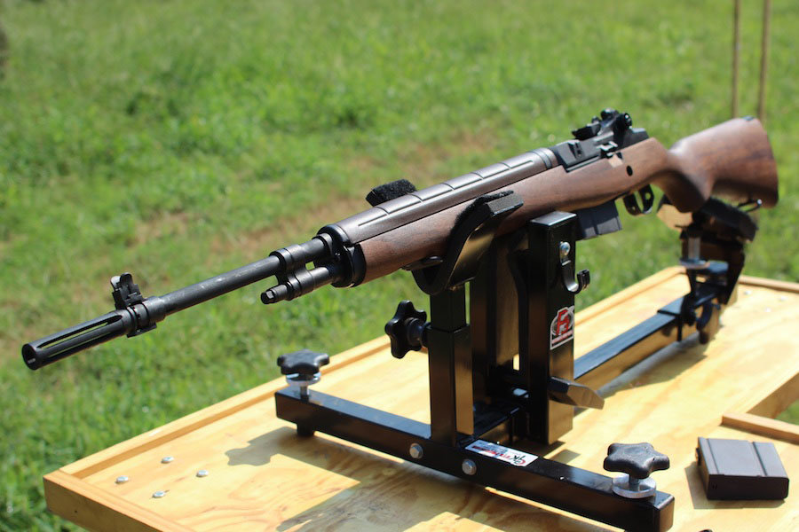The National Match M1A has the traditional look of the Standard model, but offers more out-of-the-box potential.