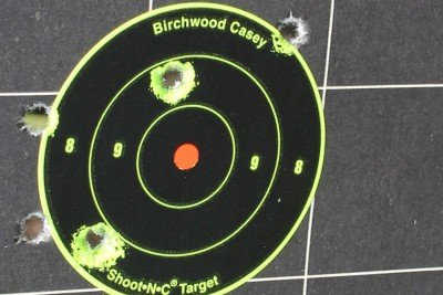 Iron sights at 100 yards? I'll admit it isn't my strong suit. But I'm pleased with how I shot the National Match. Let's just say the rifle is far more capable than I am.