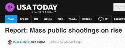 Note the headline...