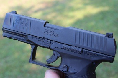 The controls of the PPQ are larger than most.