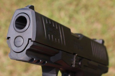 The PPQ M2 has a solid section of rail for lights and lasers.