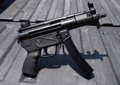 The short overall length of the ZP-5 makes the gun easy to conceal.