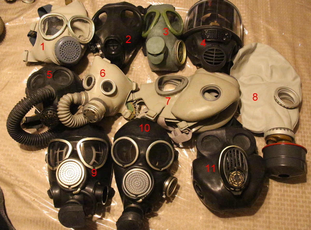 full face mask respirator kid