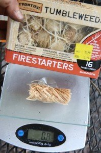 These are the firestarters I found at Tractor Supply. They were on sale last month two for five bucks I think, and the rest ended up on the clearance rack. I can't find them online cheaper than 12 bucks a box right now, and I'm going back to get the rest from the clearance rack for myself.
