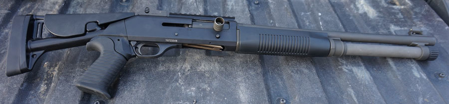 The Benelli M4 is an advanced shotgun for shooters ready to work on their advanced skills.