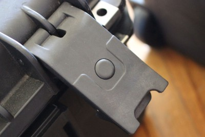 The latch on the revolver case.