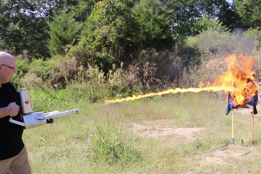The XM42 Flamethrower-What Freedom Looks Like - GunsAmerica