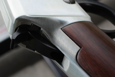 Fit and finish is good. For a wood and steel gun in this price range, I was very impressed.