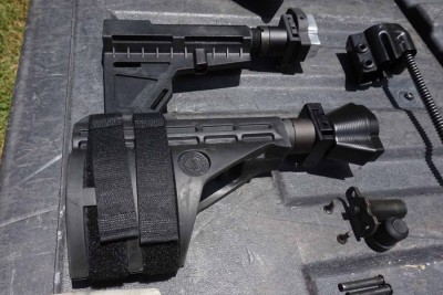 There are numerous was to go with the butt end of the gun, too.
