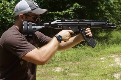 Need to make a pin-point accurate shot? Pull the brace up to your cheek. This allows the ATF to sleep through the night, as it isn't as scary as the gun being shouldered.